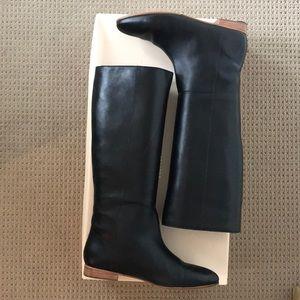 Loeffler Randall Marit black riding boots sz 9.5